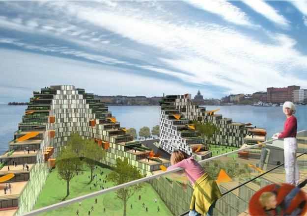 Финляндия строит умные районы и города
