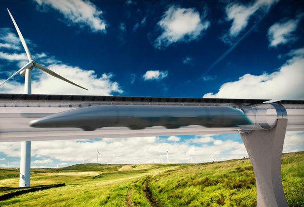 «Пневмопочта» для людей? Суперскоростной поезд может соединить Братиславу и Вену