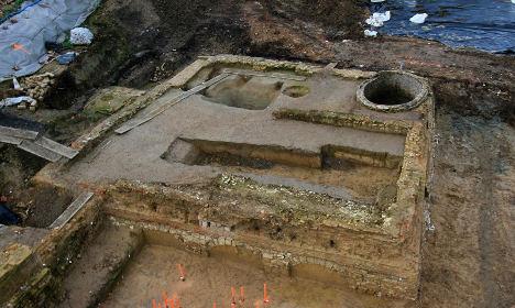 Руины замка 16 века найдены при раскопках в Лилле