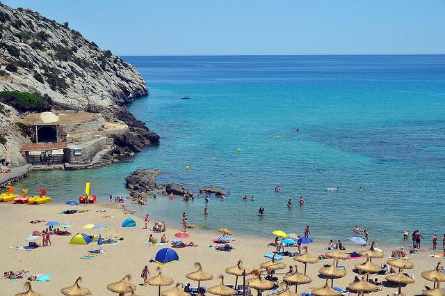 Больше всего отличных пляжей – в Испании, Турции и Греции