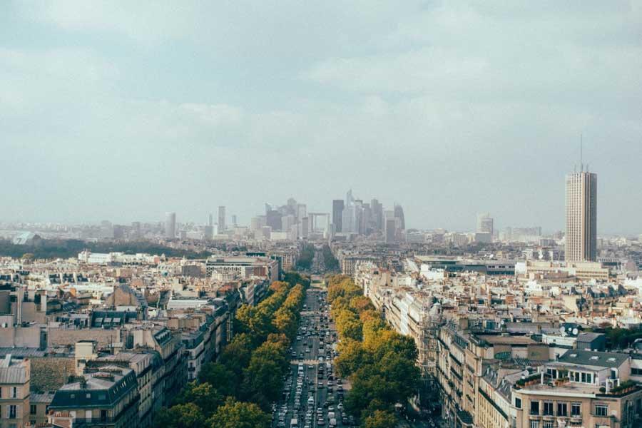 С 2017 года парижские авто будут получать маркировку по степени загрязнения атмосферы