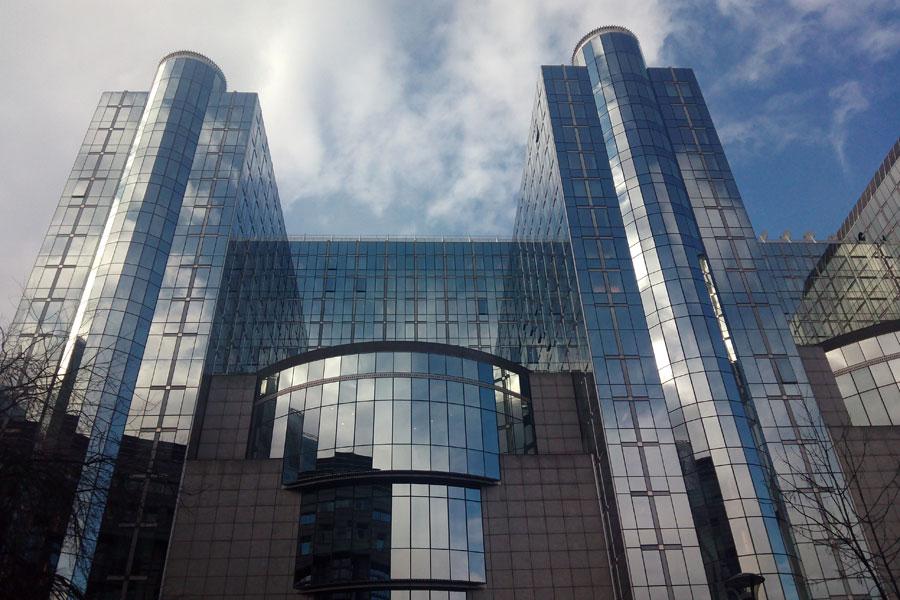 Здание Европарламента в Брюсселе могут снести