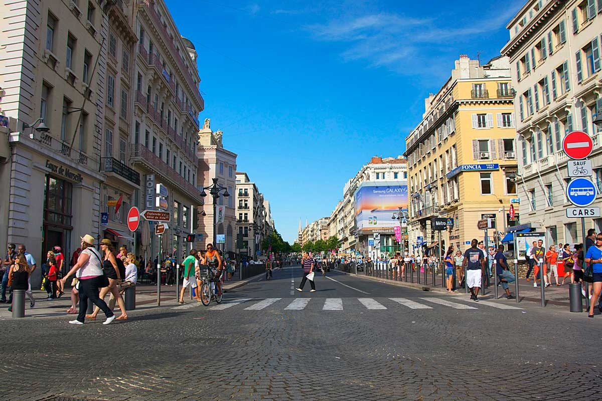 Центр Марселя станет пешеходным