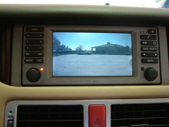 2003-2004 Range Rover Back Camera