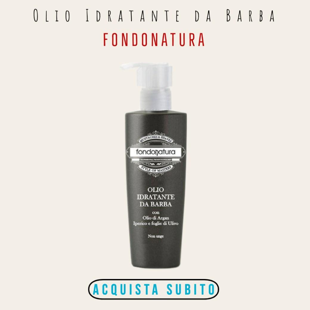 OLIO IDRATANTE DA BARBA FONDONATURA
