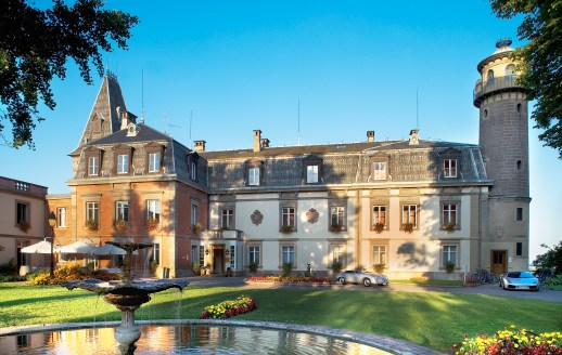 Chateau hotel in the Alsace area of France