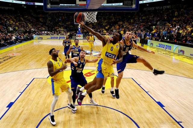 Senza Shved non c'è storia: Maccabi ROLLa il Khimki