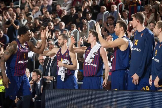 Il Barça vince contro l'Efes con una super difesa