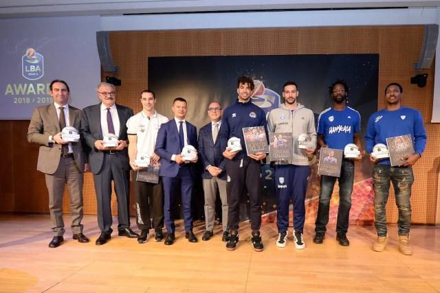 LBA Awards: Crawford MVP, Meo Sacchetti miglior allenatore e Moraschini miglior italiano