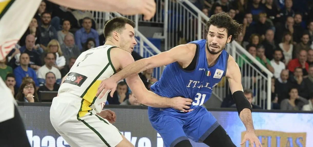 Michele_Vitali_Italia_Lituania_basket_lapresse_2019