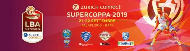 Supercoppa Zurich Connect 2019: sarà Remake Scudetto Venezia-Sassari