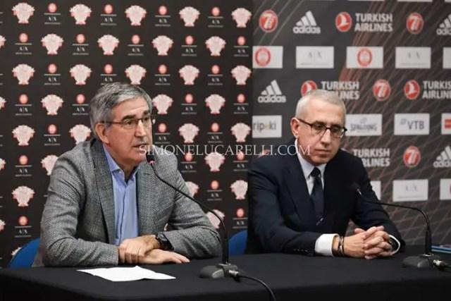 Bertomeu: la Virtus ha concrete possibilità di giocare l`Eurolega. Vogliamo un torneo sempre più stabile e competitivo