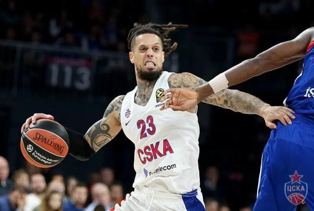 CSKA Mosca, stop per Daniel Hackett