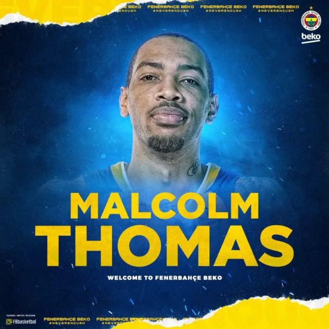 Il Fenerbahce firma con Malcolm Thomas
