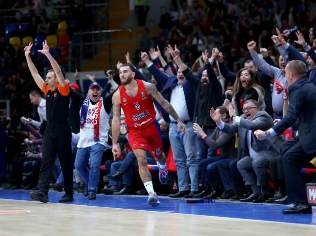Mike James CSKA
