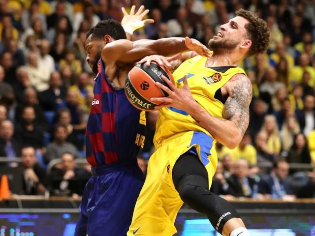 Maccabi Tel Aviv squadra vera, Barcellona senza regia. Punto