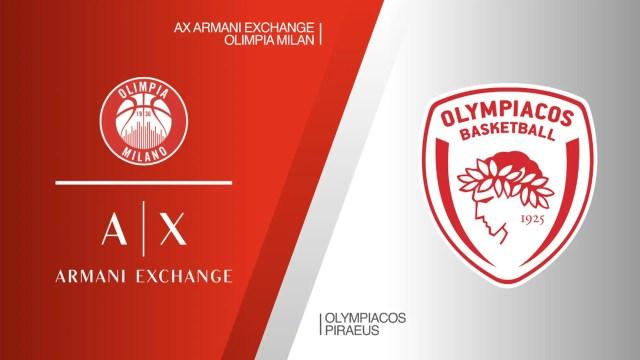 Eurosport: Rinviata Olimpia vs Olympiacos