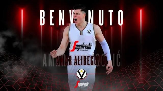 Amar Alibegovic è un giocatore della Virtus Bologna. Beffata Milano?