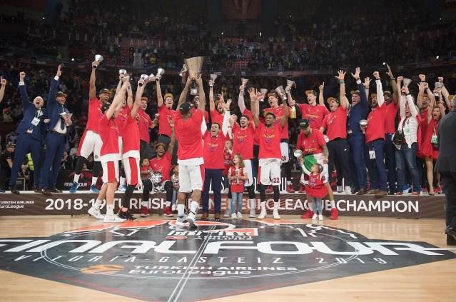 """2019: Il Cska Mosca dello """"Zar"""" Itoudis ritorna in cima all'Europa, trionfando a Vitoria"""