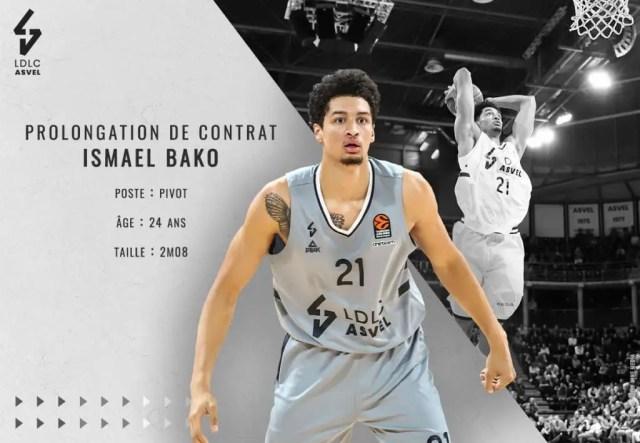 LDLC Asvel, rinnovo anche per Ismael Bako