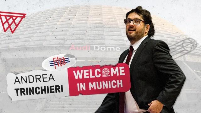 Trinchieri si presenta al Bayern, Baiesi lo mette sul podio europeo
