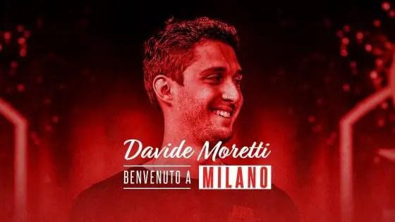 Ax Armani Exchange Milano, Davide Moretti: A Milano per migliorare, crescere e vincere