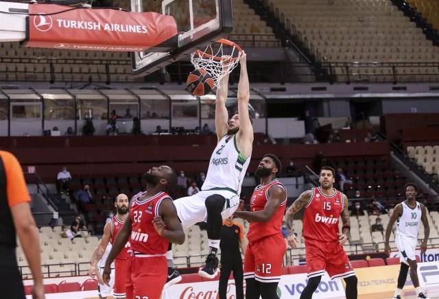 L'Olympiacos si spegne nel finale, lo Zalgiris ne approfitta e conquista i due punti