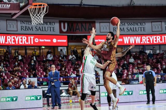 7Days EuroCup: Virtus Bologna e Venezia vincono ai danni del Lietkabelis e dell' Unics Kazan.