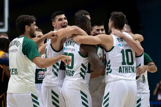 Il Panathinaikos batte in volata il Khimki