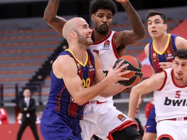Olympiacos – Barcellona, 6 secondi di fuoco