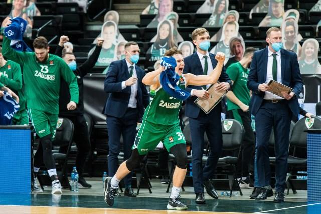 Zalgiris Kaunas – Asvel, il tiro da 3 e il gioco di squadra fanno la differenza