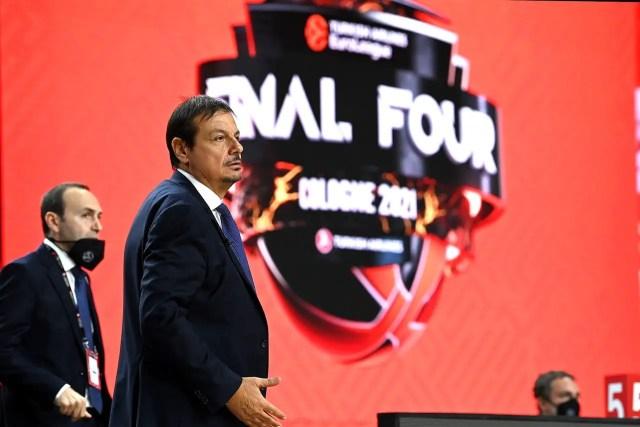 Ergin Ataman, Coach of the Year e siparietto tra Sanli ed il Presidente Erdogan