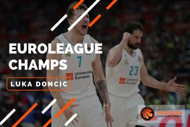 EUROLEAGUE PLAYERS 2017/2018: Luka Doncic, il predestinato