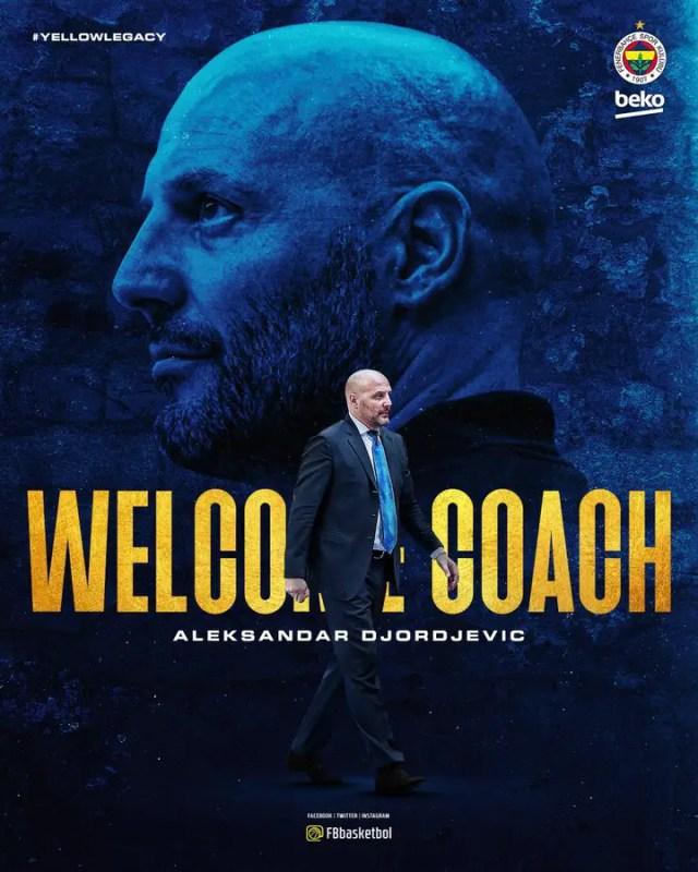 Djordjevic è il nuovo allenatore del Fenerbahce