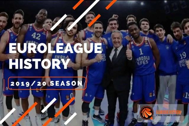 Euroleague story 2019/20: l'anno dal finale amaro