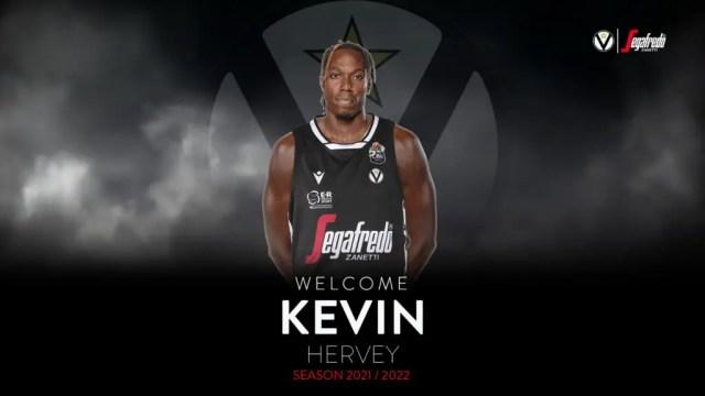 Colpo Virtus: preso Kevin Hervey
