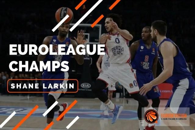 Euroleague players 2019/20: Shane Larkin, la dinamite di Cincinnati alla conquista dell'Europa