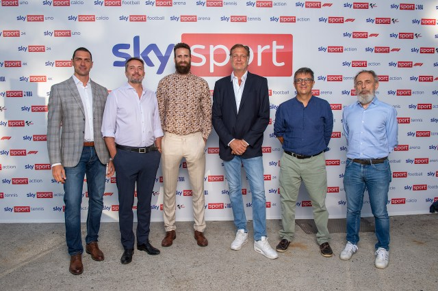 Sky Sport, la presentazione di una stagione che avrà il basket come protagonista