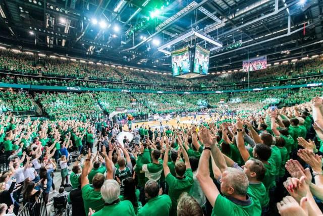 Zalgiris fans - Eurodevotion