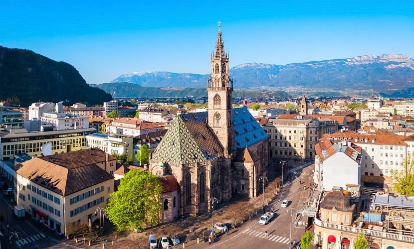Bolzano é uma das melhores cidades para morar na Itália