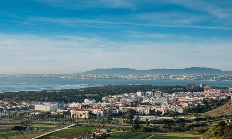 Almada arredores de Lisboa