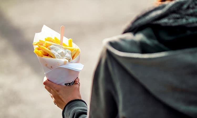 batatas fritas belgas