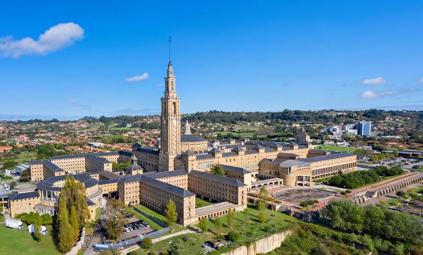 campus de universidade na Espanha
