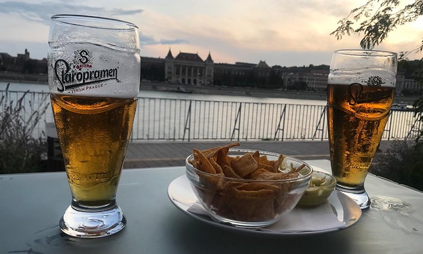 Cerveja em Budapeste