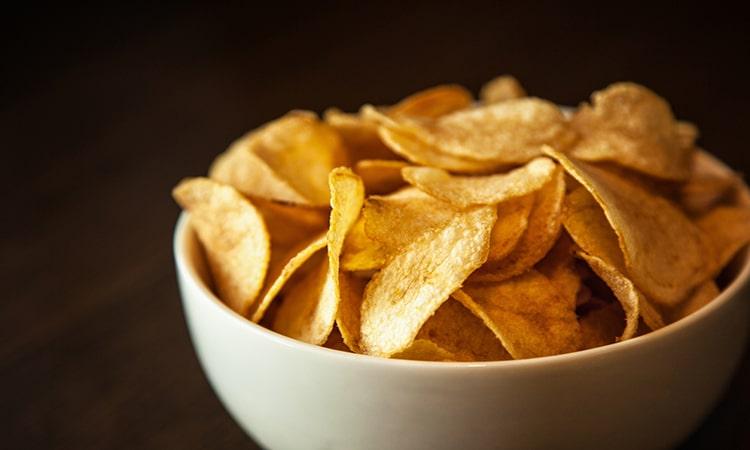 Tayto chips - comida típica da Irlanda