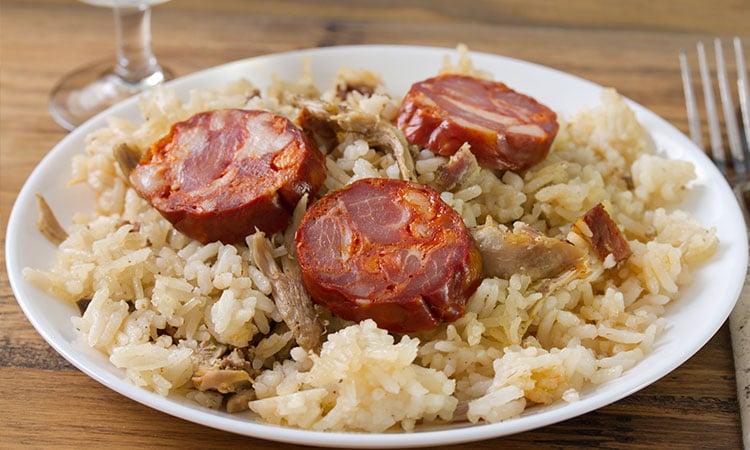 comidas tipicas de portugal arroz de pato