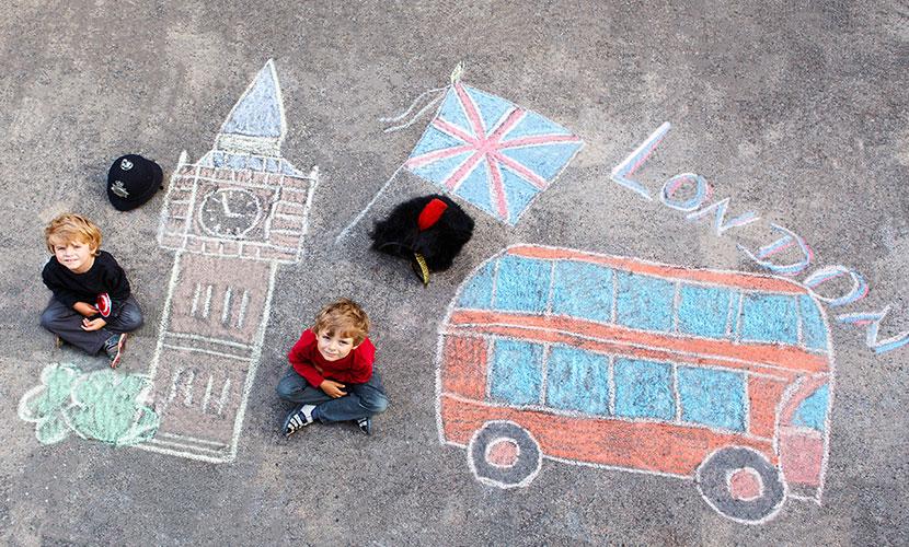 Crianças em Londres