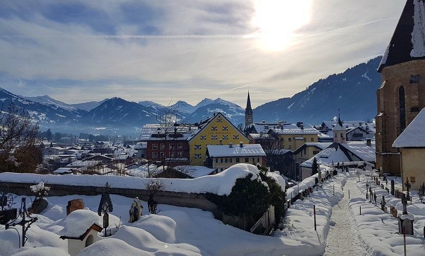 destino de esqui na Áustria