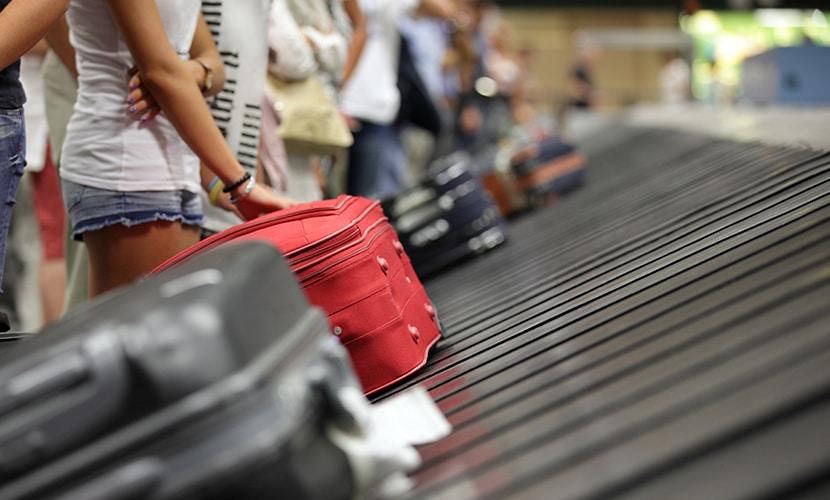 Extravio de bagagem malas