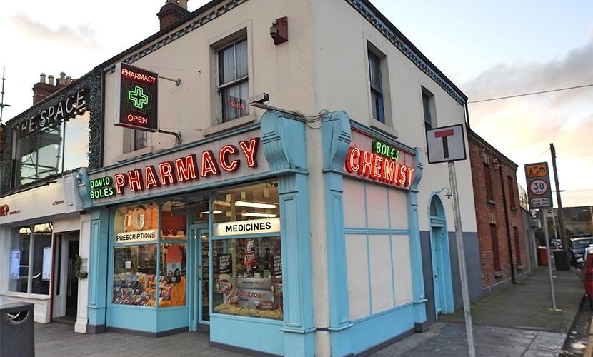 Farmácia na Irlanda